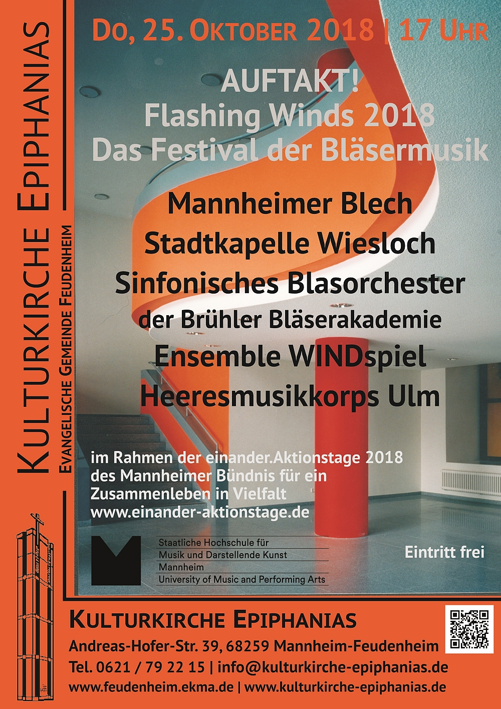 AUFTAKT! - Flashing Winds 2018